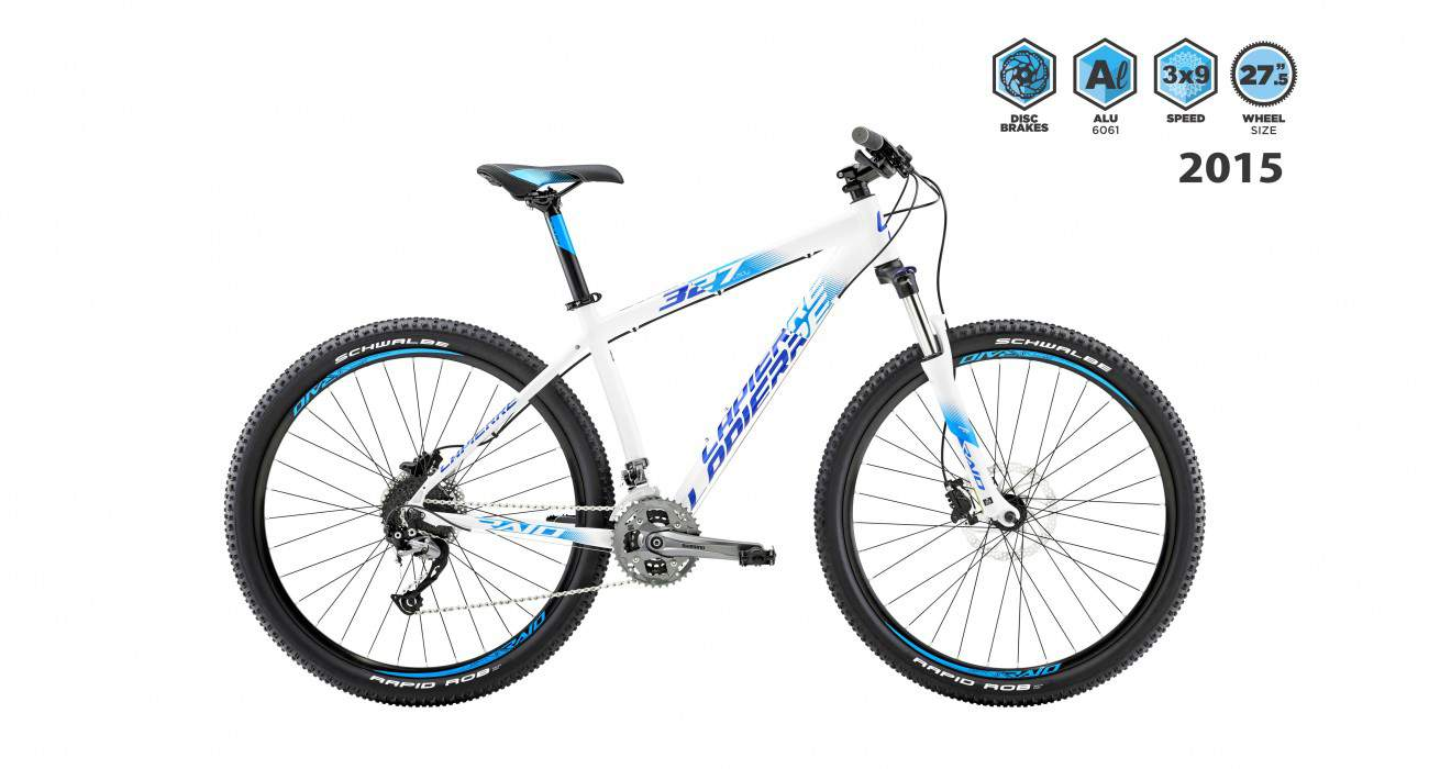 lapierre raid 327 lady 2015 white with blue