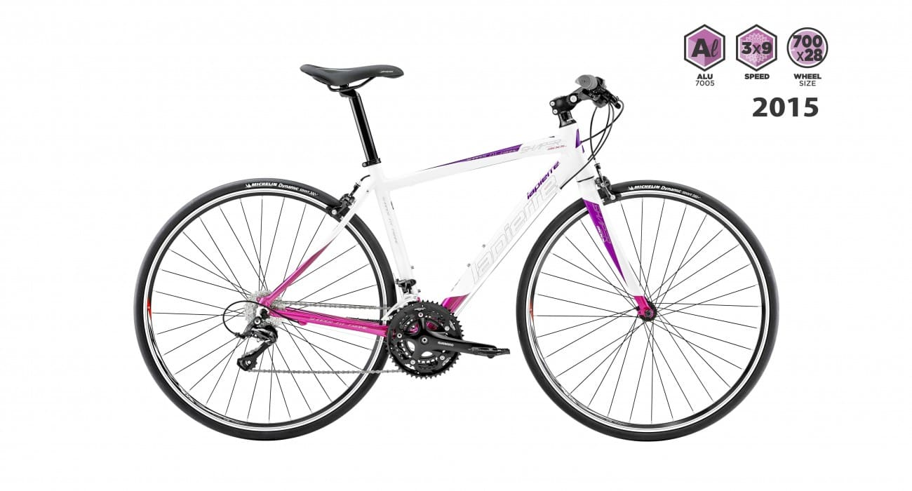 lapierre shaper 300 lady 2015 white with purple
