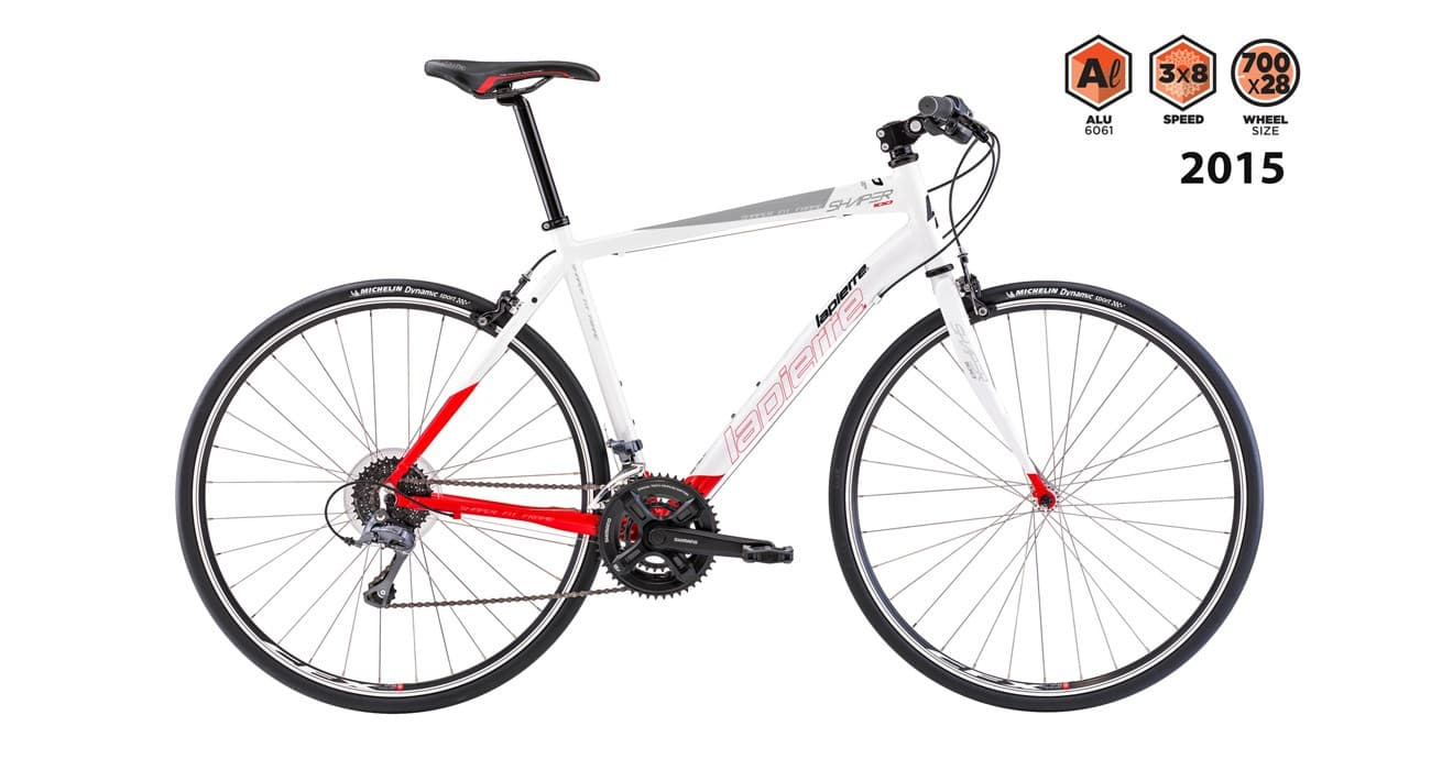 lapierre shaper 100 2015 white with red
