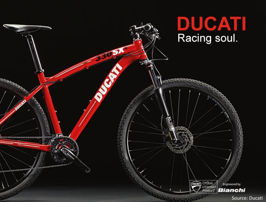 DUCATI BRANDED BICYCLES TO BE ENGINEERED BY BIANCHI