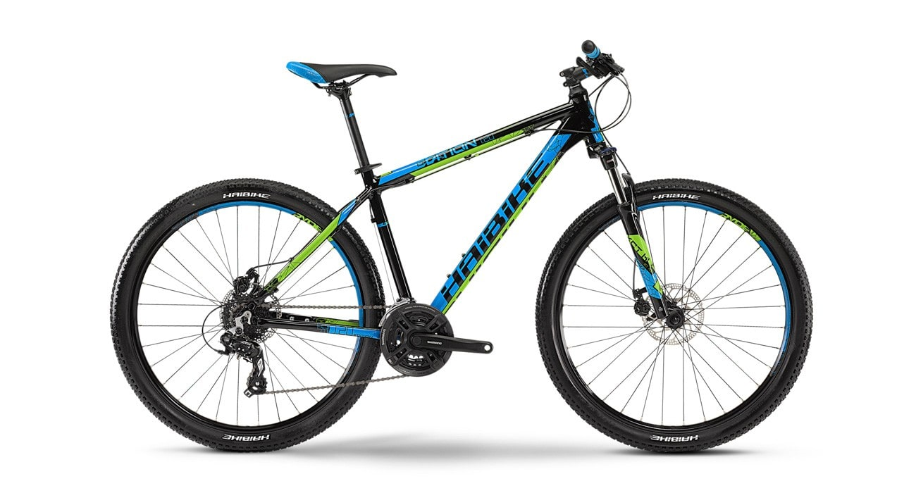 haibike edition 7 20 2015 black with blue