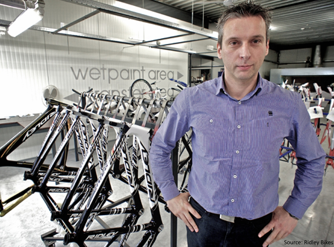 Exclusive Interview with the Founder and CEO of Ridley Bikes