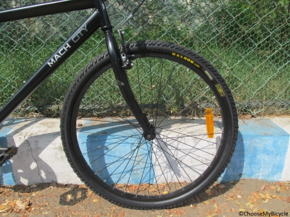 Mach City IBike Single Speed Ride Quality