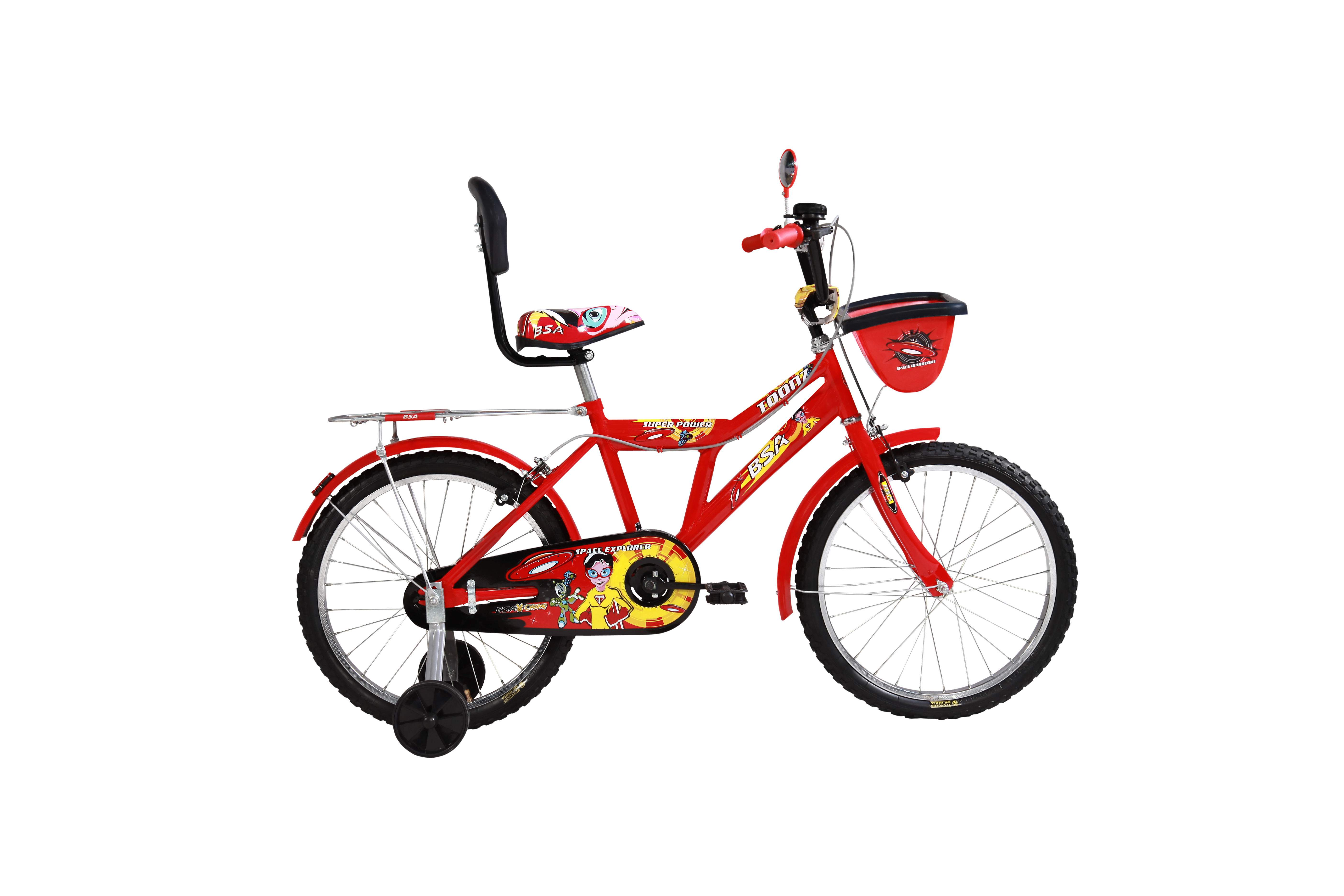 bsa champ toonz 16 2016 red with black