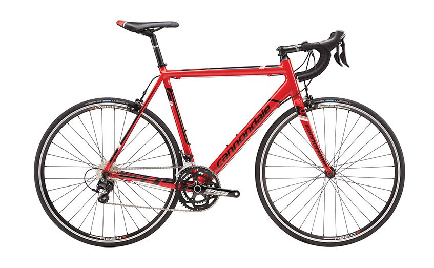 cannondale caad 8 5 105 2016 redwithblack