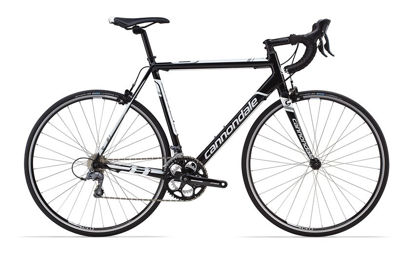 cannondale caad 8 8 claris 2016 blackwithwhite