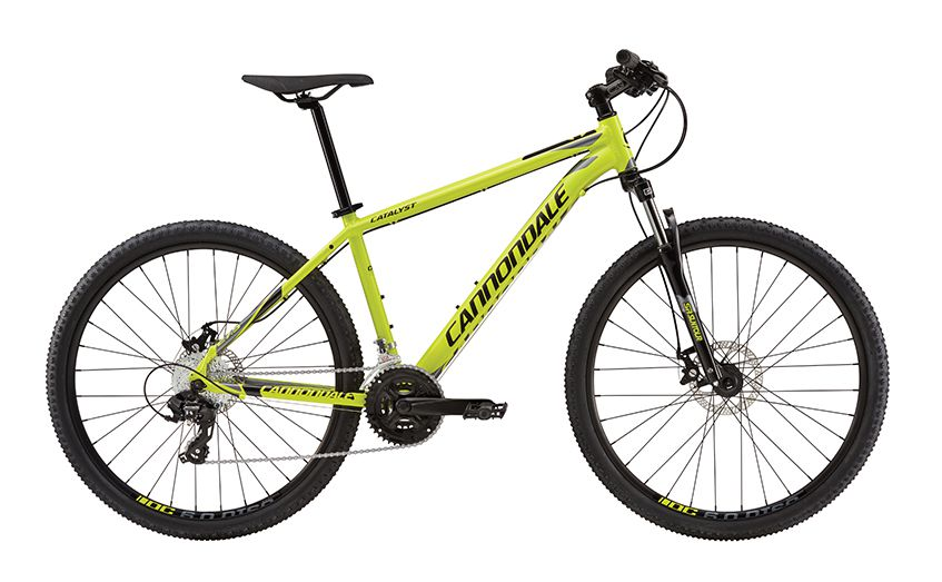 cannondale catalyst 3 27 5 2016 yellow