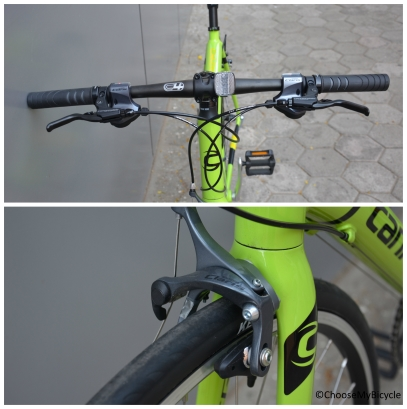 Cannondale Caad 8 Flatbar 2 (2016) Brakes and Steering