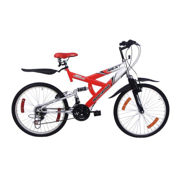 hero next 26t 2016 white with red