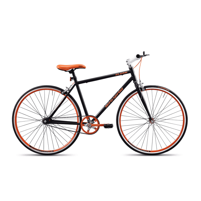 hero gleam 2016 black with orange
