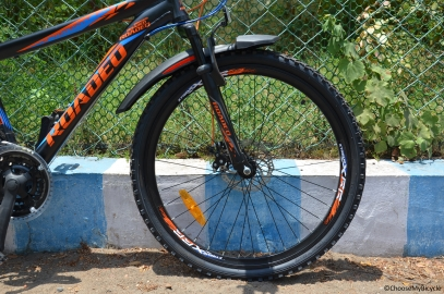 Hercules Roadeo A 75 (2016) Ride Quality