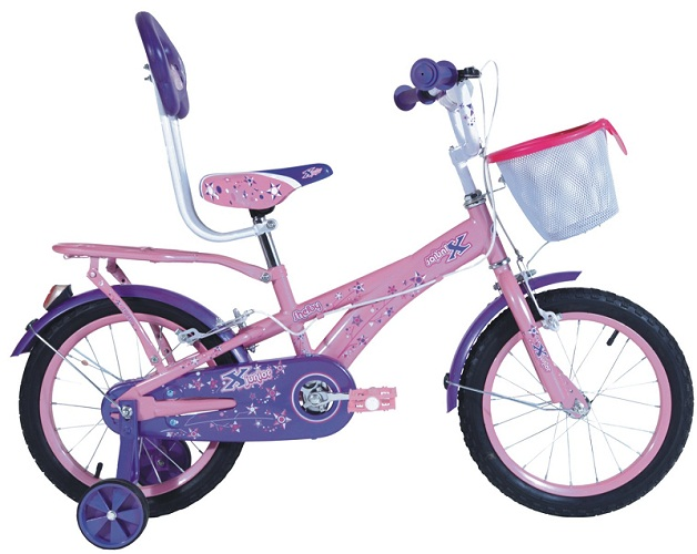 x bicycles shelby 16 girl 2016 pink with purple