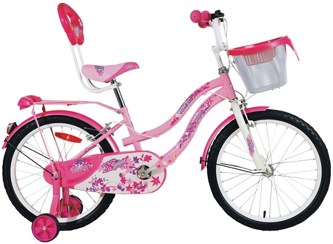 x bicycles cleo 20 girl 2016 pink
