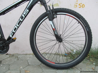 Focus Raven Rookie (26) 1.0 (2016) Ride Quality
