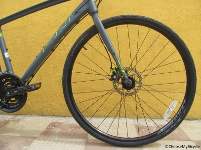 Fuji Absolute 1.9 D (2016) Ride Quality