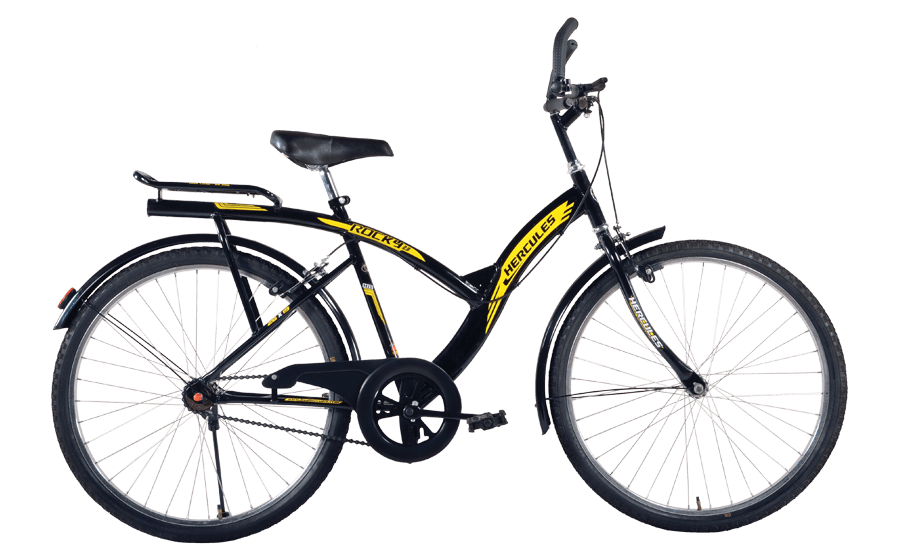 hercules mtb turbodrive rockey 2 0 26 2016 black with yellow