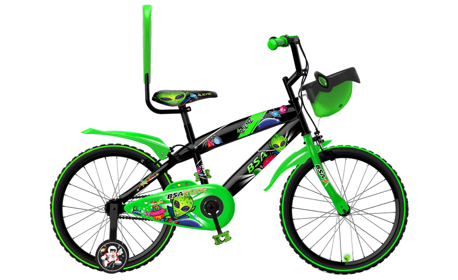 bsa champ alienz 20 2016 green with black