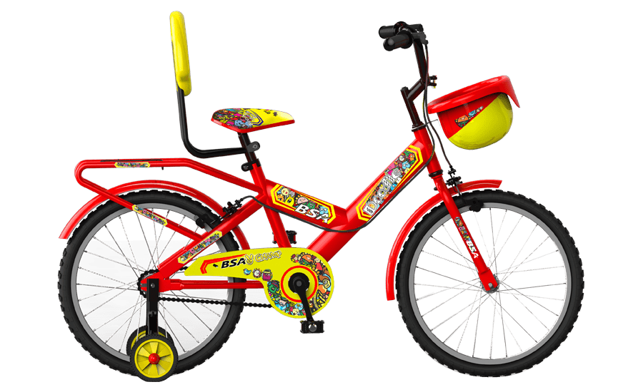 bsa champ doodle 16 2016 red with yellow