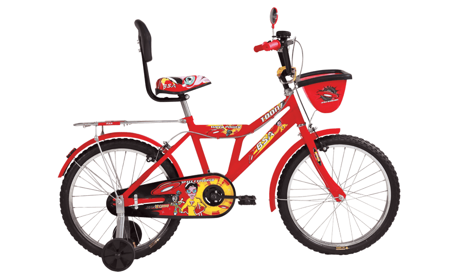 bsa champ toonz 12 2016 red with black