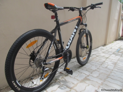 Giant Rincon Disc (2016) Frame, Fit and Comfort