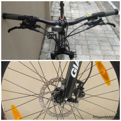 Giant Rincon Disc (2016) Brakes and Steering
