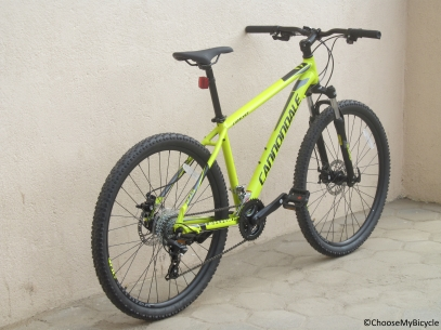 Cannondale Catalyst 3 27.5 (2016) Frame, Fit and Comfort