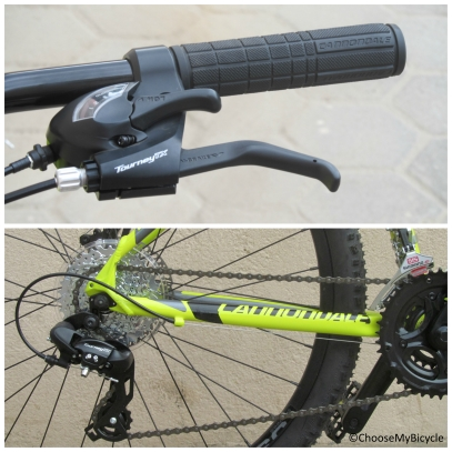 Cannondale Catalyst 3 27.5 (2016) Gearing