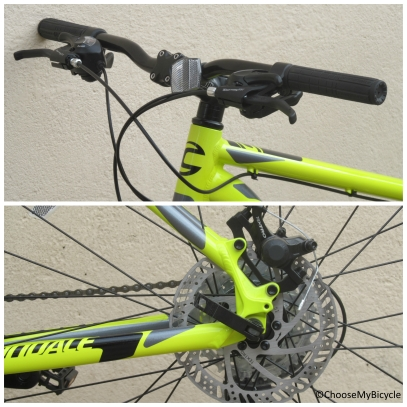 Cannondale Catalyst 3 27.5 (2016) Brakes and Steering
