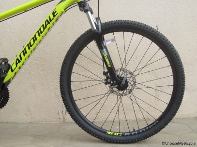 Cannondale Catalyst 3 27.5 (2016) Ride Quality