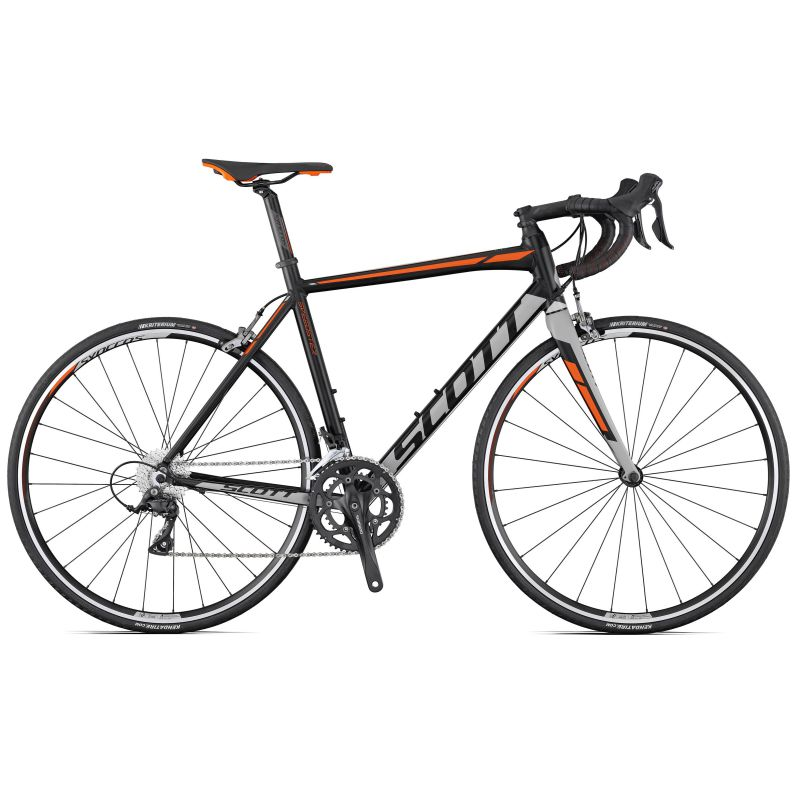 scott speedster 30 2017 black with orange