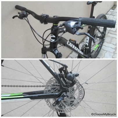 Cannondale Trail 8 27.5 (2016) Brakes and Steering