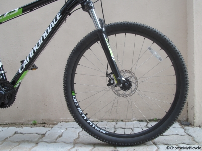 Cannondale Trail 8 27.5 (2016) Ride Quality