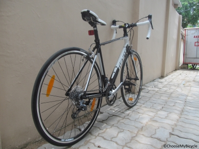 Giant Defy 5 (2016) Frame, Fit and Comfort