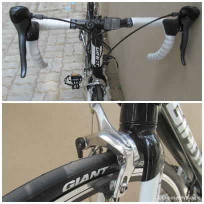 Giant Defy 5 (2016) Brakes and Steering