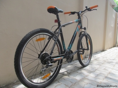 Giant Revel 1 (2016) Frame, Fit and Comfort
