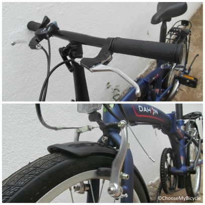 Dahon SUV D6 (2016) Brakes and Steering
