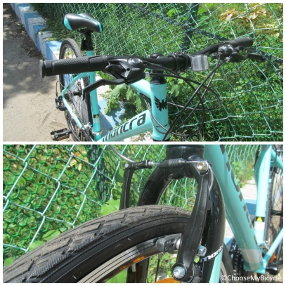 Montra Trance Pro (2016) Brakes and Steering