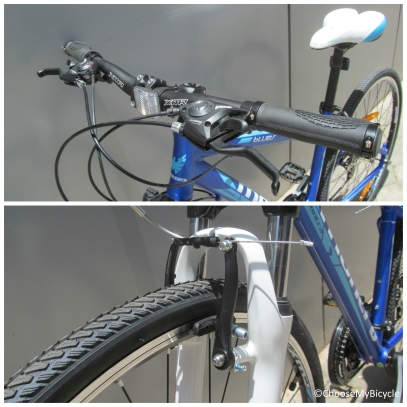 Montra Blues 1.1 (2016) Brakes and Steering