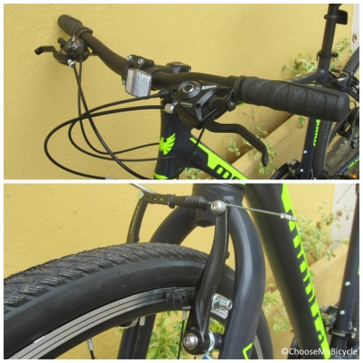 Montra Timba 1.1 (2016) Brakes and Steering