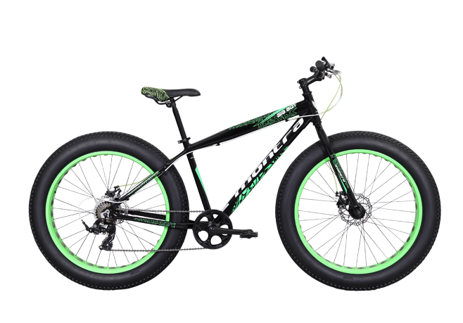 montra big boy 26 2016 black with green