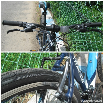 Montra Trance (2016) Brakes and Steering