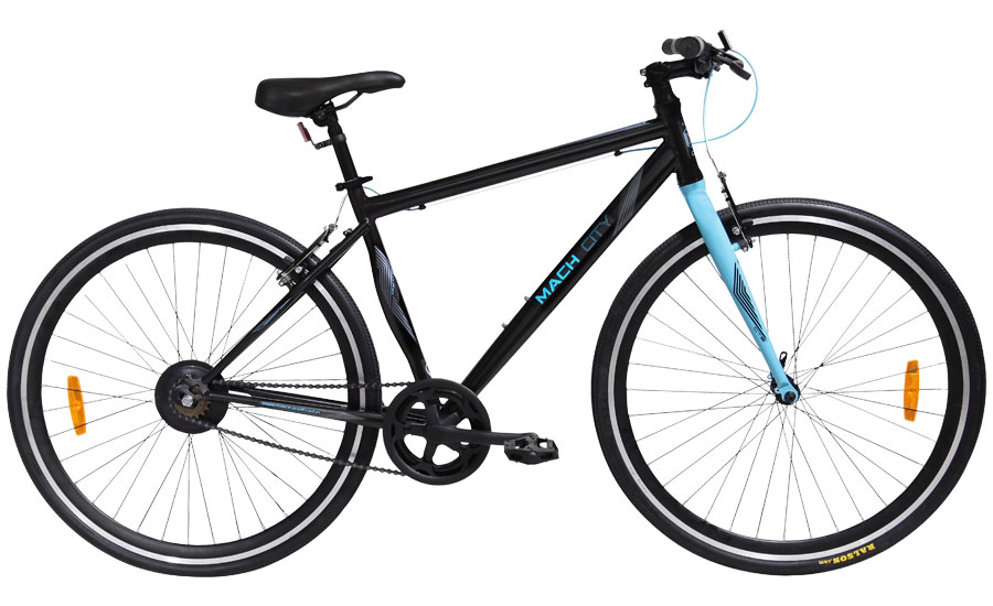 mach city munich single speed 2016 black