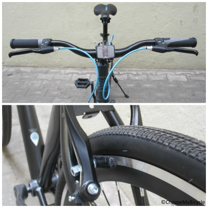 Mach City Munich Single Speed (2016) Brakes and Steering