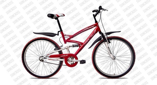 suncross x track s s 2014 red