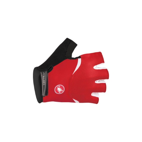 castelli arenberg glove gel red