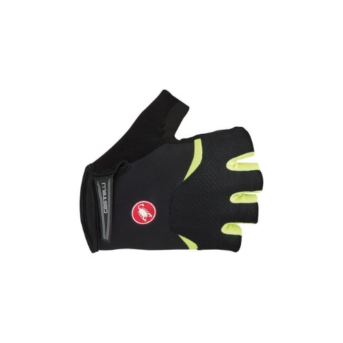 Castelli Arenberg Glove-Gel Black/Yellow