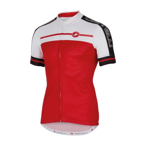 castelli velocissimo jersey red