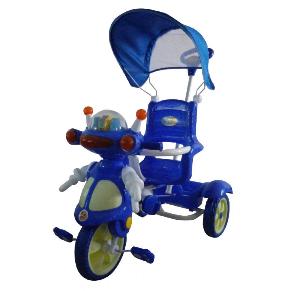 ez playmates deluxe robot tricycle 2016 red