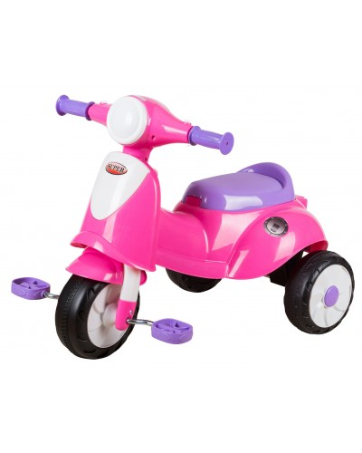 ez playmates italian scooter tricycle 2016 pink