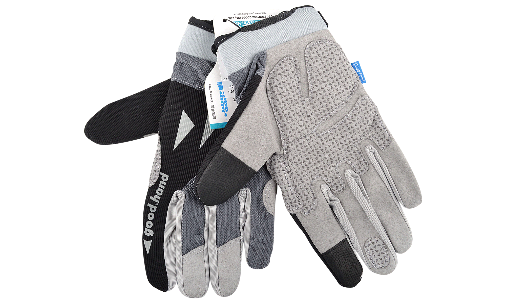 good hand full finger gloves black